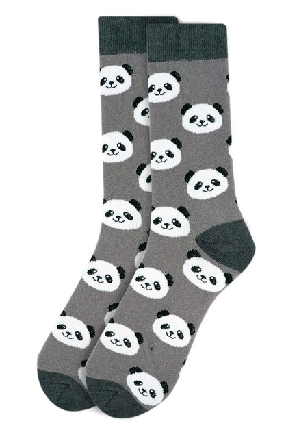 Mens Panda Novelty Socks - orangeshine.com