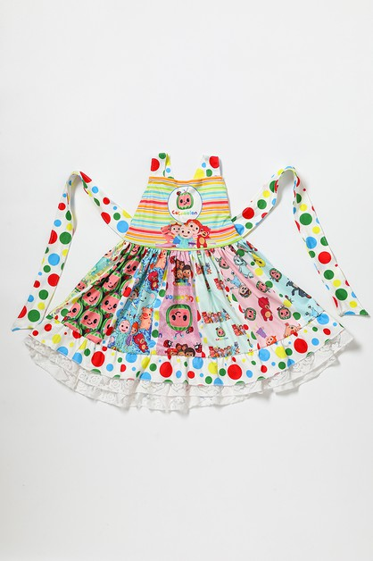Cocomelon twirl dress - orangeshine.com