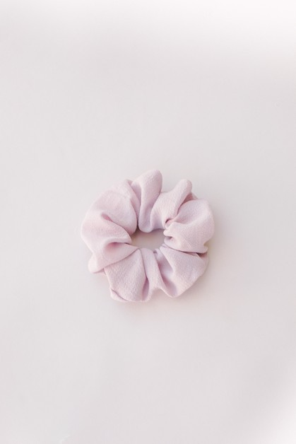 Lilac Hair Scrunchie Hair Tie - orangeshine.com
