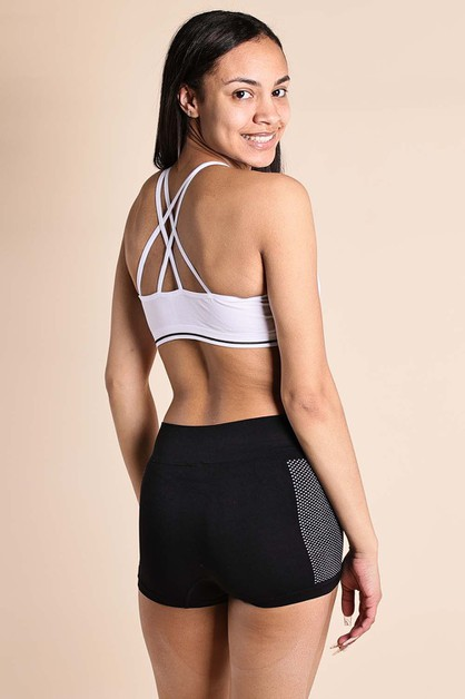Cossback Sports Bra - orangeshine.com