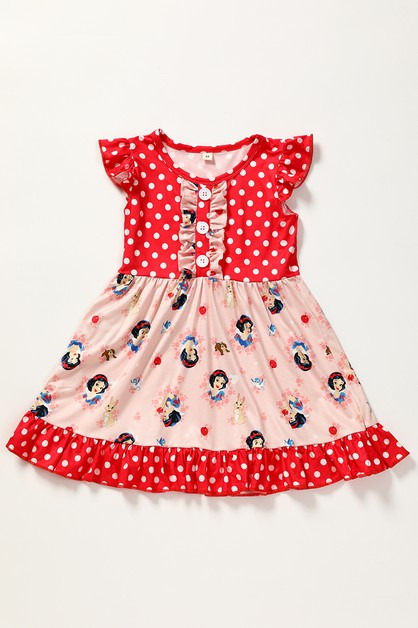 Character polkadot dress - orangeshine.com