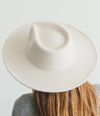 VEGAN FELT RANCHER HAT - orangeshine.com