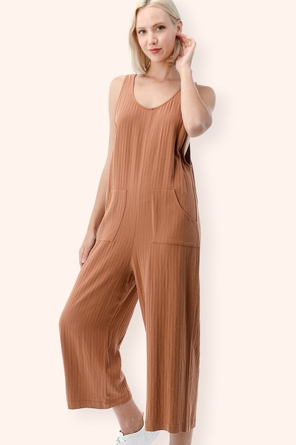 Front Pocket Jumpsuit - orangeshine.com