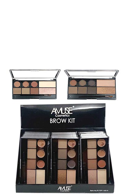 AMUSE COSMETICS BROW KIT 24 PCS - orangeshine.com