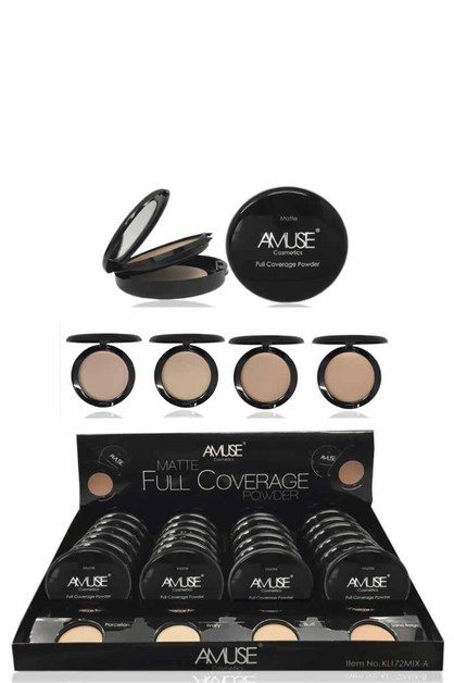 AMUSE MATTE FULL COVERAGE POWDER PRE - orangeshine.com