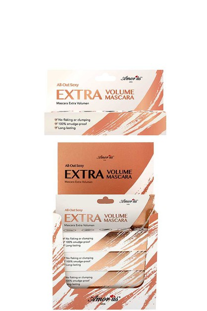 EXTRA VOLUME MASCARA 12 PCS - orangeshine.com