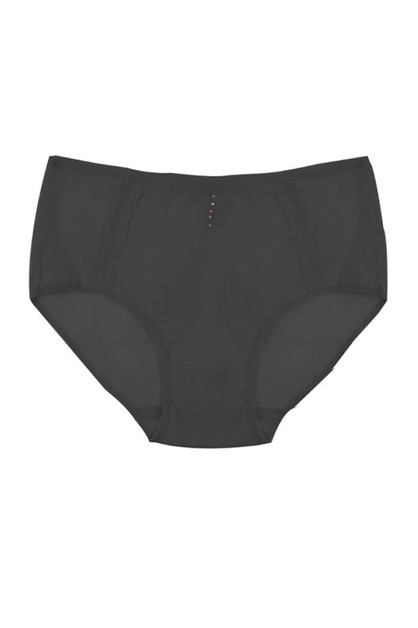 Plus Size Solid brief Panty - orangeshine.com