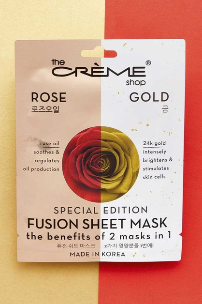 ROSE AND GOLD FUSION FACE MASK - orangeshine.com