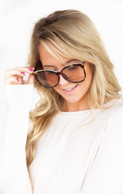 Rachel Jeweled Assorted Sunnies - orangeshine.com