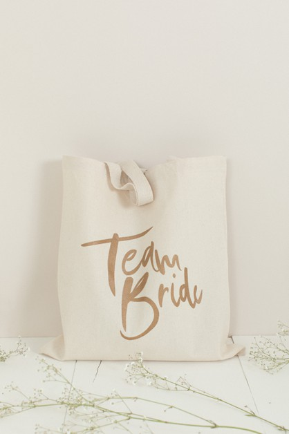 Team Bride Tote Bag - orangeshine.com