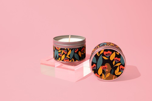 Ppppy Bloom Soy Candle - orangeshine.com