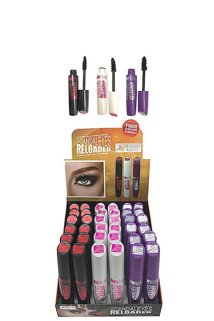 SCANDALEYES RELOADED MASCARA 36 PCS - orangeshine.com