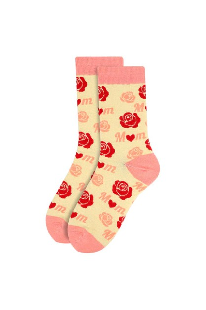 Womens Mom Novelty Socks - orangeshine.com