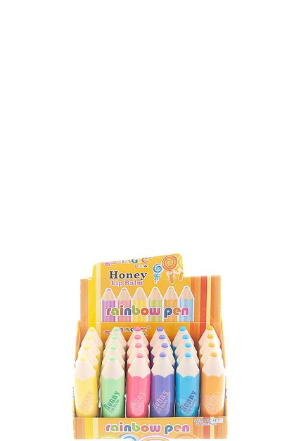 MAGIC USA HONEY RAINBOW PEN LIP BALM - orangeshine.com
