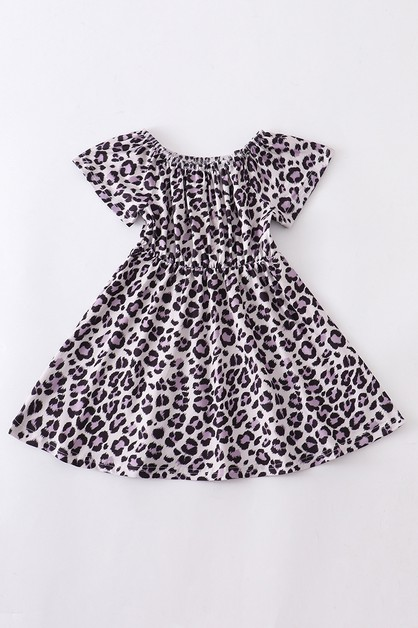 Leopard dress - orangeshine.com