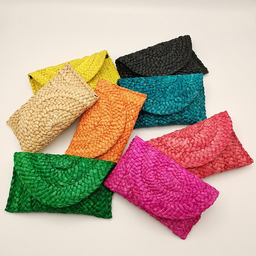 Summer straw clutches - orangeshine.com