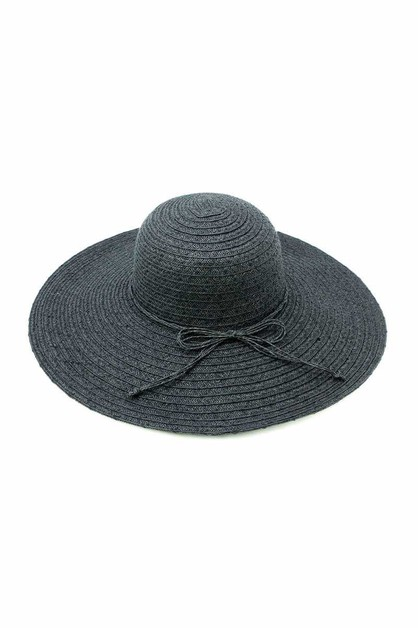 STRAW HAT WITH MATCHING STING TIE - orangeshine.com