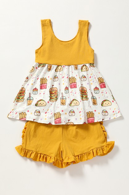 I love berger shorts set - orangeshine.com