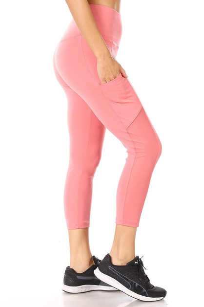 Mesh Capris Sports Leggings Yoga - orangeshine.com