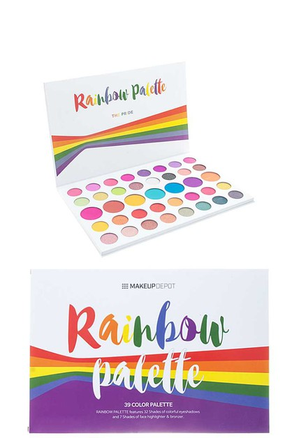 RAINBOW 39 COLOR PALETTE - orangeshine.com