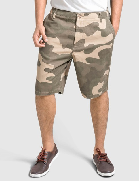 Mens Camo Shorts Slim Fit - orangeshine.com