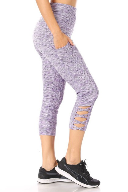 Cross Sports Leggings Capris Yoga - orangeshine.com