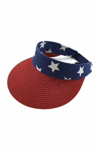 FASHION AMERICAN FLAG VISOR - orangeshine.com