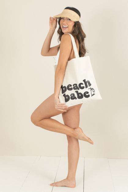 Beach Babe Tote Bag - orangeshine.com