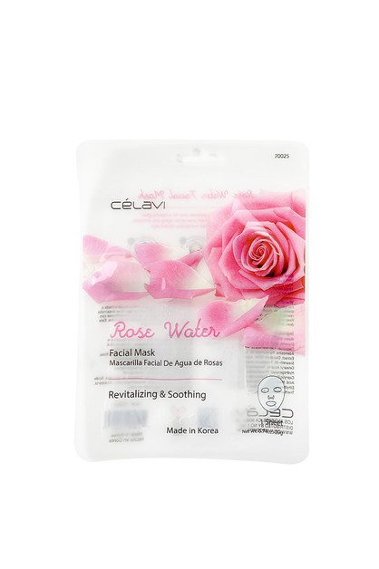 CELAVI ROSE WATER FACIAL MASK 6PCS - orangeshine.com