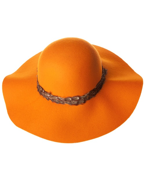 PARISIAN CHIC BRIM HAT - orangeshine.com