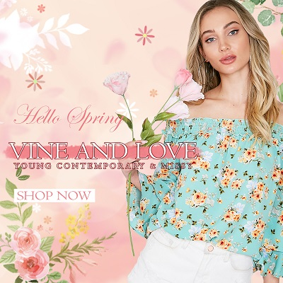 VINE & LOVE WHOLESALE SHOP - orangeshine.com