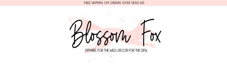 Blossom Fox - orangeshine.com