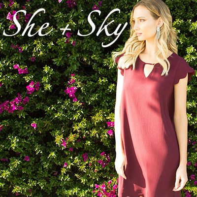 She + Sky - orangeshine.com