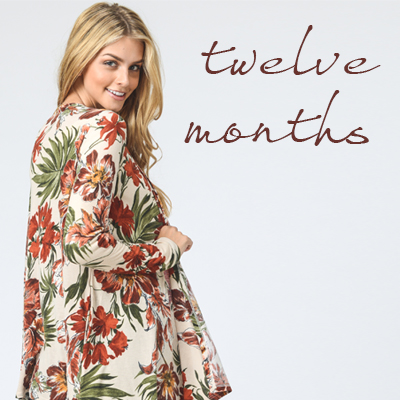 TWELVE MONTHS APPAREL - orangeshine.com