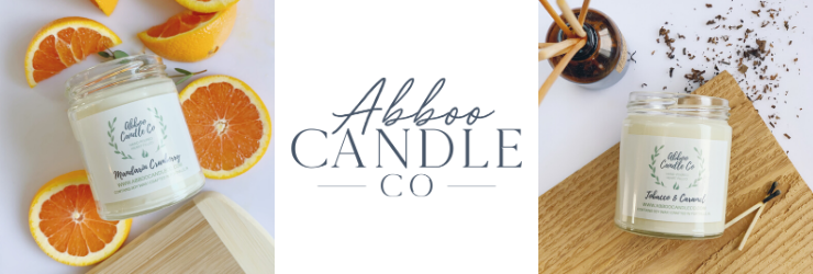 Abboo Candle Co - orangeshine.com