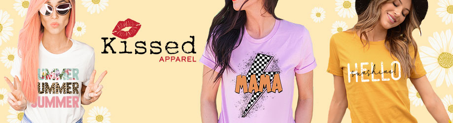 Kissed Apparel - orangeshine.com