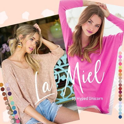 LA MIEL By Hyped Unicorn WHOLESALE SHOP - orangeshine.com