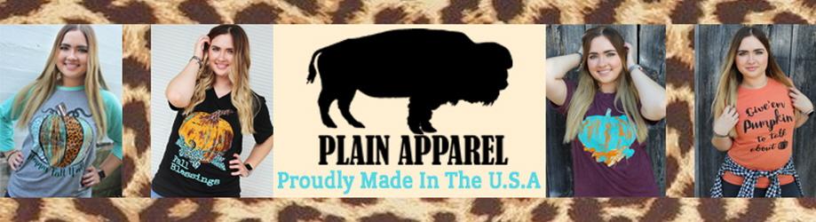 Plain Apparel Tees - orangeshine.com