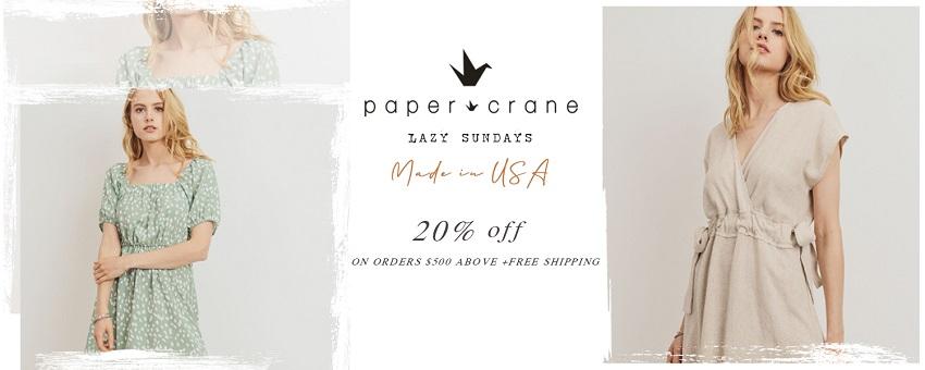 PAPER CRANE - orangeshine.com