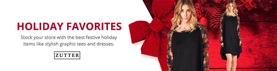 Zutter Holiday Christmas Wholesale Clothing