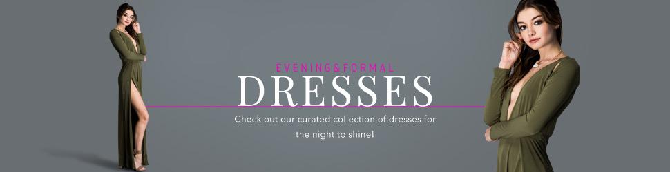 Formal and Evening Wholesale Dresses on OrangeShine