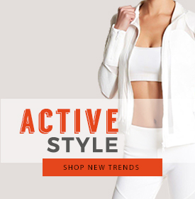 STAY STRONG IN STYLE - orangeshine.com TREND.