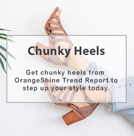 Chunky Heels - orangeshine.com TREND.
