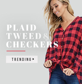 PLAID, TWEED, CHECKERS AND MORE! - orangeshine.com TREND.