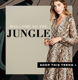 WELCOME TO THE JUNGLE - orangeshine.com TREND.