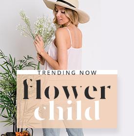 FLOWER CHILD - orangeshine.com TREND.
