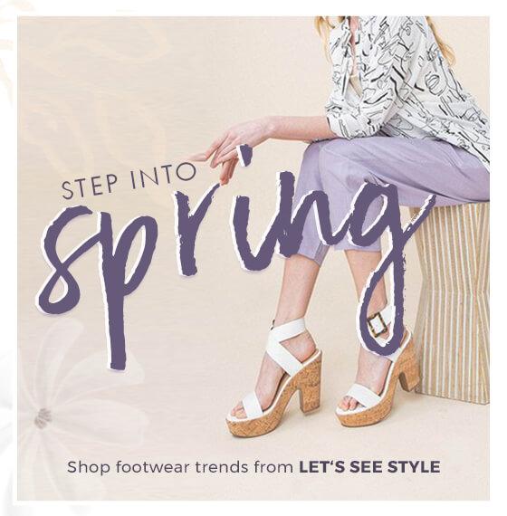 STEP IN TO SPRING - orangeshine.com TREND.