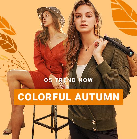 COLORFUL AUTUMN - orangeshine.com TREND.